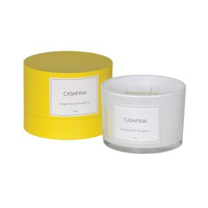 Casafina blood orange and grapefruit candle